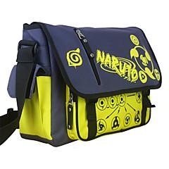 Τσάντα Εμπνευσμένη από Naruto Cosplay Anime Αξεσουάρ για Στολές Ηρώων Τσάντα Μαύρο Νάιλον Ανδρικά / Γυναικεία