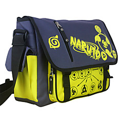 Torba Zainspirowany przez Naruto Cosplay Anime Akcesoria do Cosplay Torba Černá Nylon Męskie / Damskie