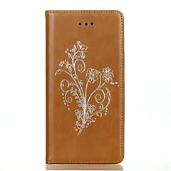 Για Θήκη Sony / Xperia Z5 Πορτοφόλι / Θήκη καρτών / Ανθεκτική σε πτώσεις tok Πλήρης κάλυψη tok Μονόχρωμη Μαλακή Συνθετικό δέρμα για Sony
