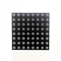 8x8 rgb conduit point de couleur affichage complet 60x60mm anode commune pour Arduino