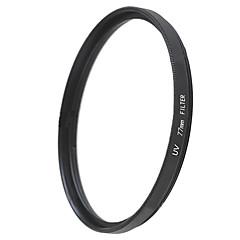 emoblitz 77 milímetros uv ultra-violeta lente filtro protetor preto