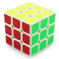 Yongjun® Cubes magiques 3*3*3 Vitesse / Niveau professionnel Cube de vitesse lisse Noir / Blanc Plastique Jouets
