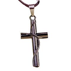 sinuoso colgante de la cruz