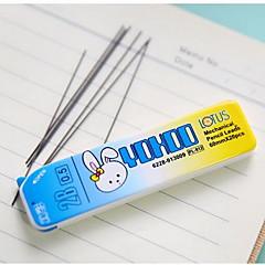 Ceruza Toll Utántöltések Toll,Műanyag Hordó Véletlenszerűen kiválasztott színek Ink Colors For Iskolai felszerelés Irodaszerek Csomag
