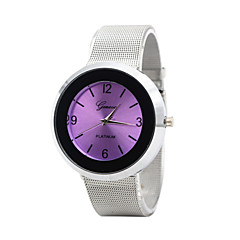 Women's Fashion Watch Bracelet Watch Quartz Casual Watch Stainless Steel Band Silver