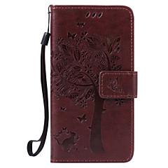 Για Samsung Galaxy Θήκη Πορτοφόλι / Ανθεκτική σε πτώσεις / Προστασία από τη σκόνη / Other tok Πλήρης κάλυψη tok Δέντρο ΣκληρήΣυνθετικό