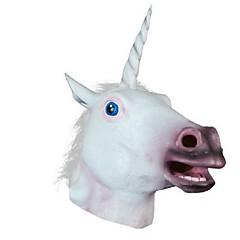 új 2016 egyszarvú ló fej maszk halloween jelmez party ajándék prop újdonság maszkok latex gumi hátborzongató