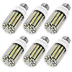 YouOKLight 6PCS High Luminous E27 E12 110V 136*SMD5733 LED Corn Bulb 12W Spotlight LED Lamp Candle Light