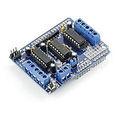 l293d motoros hajtás pajzs Arduino duemilanove mega uno r3 avr atmel