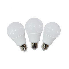 3PCS 9W E26 LED Globe Bulbs A60(A19) 9 SMD 2835 810 lm Warm White / Cool White Decorative AC 85-265 V