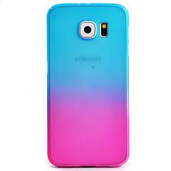 Na Samsung Galaxy S7 Edge Wzór Kılıf Futerał Kılıf Przejście kolorów Twarde PC Samsung S7 edge / S7 / S6 edge / S6