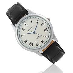Couple's Leather Quartz Fashion Watch
