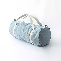 Gym Bag / Yoga Bag Leisure Sports / Yoga Waterproof / Waterproof Zipper / Wearable Unisex Dark Blue / Light Blue Denim