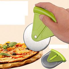 πίτσα γύρο πίτα κόβεται από ανοξείδωτο χάλυβα μαχαίρι τυχαίο χρώμα