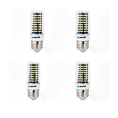 4 pcs BRELONG E14 / G9 / GU10 / E26/E27 / B22 LED Corn Lights 80 SMD 5733 800 lm Warm White / Cool White AC 220-240 V