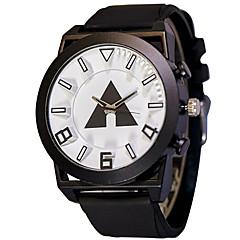 Erkek Spor Saat Moda Saat Bilek Saati Quartz / Silikon Bant İhtişam Havalı Günlük Siyah Turuncu Sarı Kırmzı Yeşil Mavi