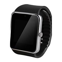 Herren Smart Uhr digital Touchscreen / Fernbedienung / Kalender / Alarm / Schrittzähler / Fitness Tracker / Stopuhr Caucho Band Cool
