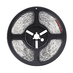 SENCART 5 M 300 5630 SMD Meleg fehér / Fehér / Piros / Sárga / Kék / Zöld Vízálló / Cuttable / Összekapcsolható / Gépjárműbe / Öntapadós W