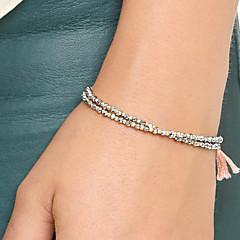 Vintage Bracelets For Women Harajuku Cordao Best Friends Tassel Pendant Pulseras Bohemian Bangles Bracelet Femme