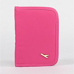 Candy Color Wallet Passport Holder Case