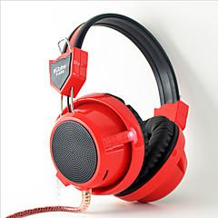 Kubite T-K02 ΑκουστικάΚεφαλής(Με Λουράκι στο Κεφάλι)ForΥπολογιστήςWithΜε Μικρόφωνο / Έλεγχος Έντασης / Ηλεκτρονικό Παιχνίδι / Ακύρωση