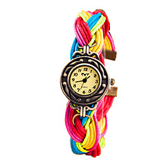 Women's Fashion Casual Fabric Quartz Watch