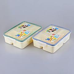 marca yeeyoo promoción bpa duradera niños con llave la caja de almuerzo libre al por mayor
