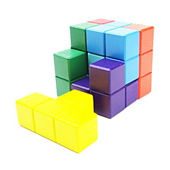 / Cube de vitesse lisse 3*3*3 / Cubes magiques Arc-en-ciel Bois