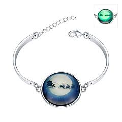 Dames Bedelarmbanden Bangles Armband Modieus Verlicht Europees Verzilverd Legering Sieraden Voor Feest Speciale gelegenheden  Verjaardag