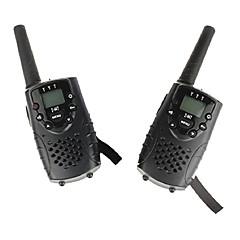 φορητό μίνι φορητά (1 ζεύγος) με υποδοχή ακουστικών UHF 446mhz έως 6 χιλιόμετρα PMR t667 δίδυμο walkie talkie για τα παιδιά