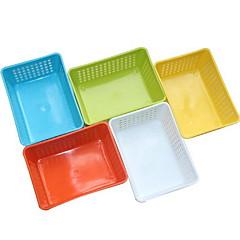 1 Cocina Cocina Plástico Repisas y Soportes 15*11*6cm