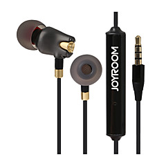 Joyroom E105 Słuchawki dokanałoweForOdtwarzacz multimedialny / tablet / Telefon komórkowy / KomputerWithz mikrofonem / DJ / Regulacja