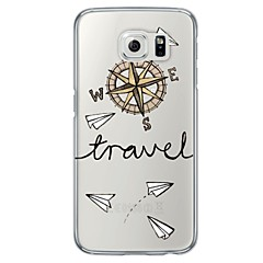 For Samsung Galaxy S7 Edge Transparent Mønster Etui Bagcover Etui Tegneserie Blødt TPU for SamsungS7 edge S7 S6 edge plus S6 edge S6 S5