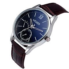 Men Clock Quartz Watch Fashion Leather Men's Wristwatch 2016 Watch for Men Business Casual Watch Relogio Feminino