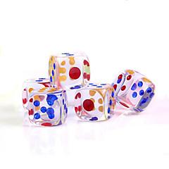 akril kristály kocka (5db)