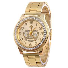 Masculino Relógio de Moda Quartz / Lega Banda Casual Prata / Dourada marca