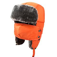 Chapka Hat / Fur Hat Ski Hat Women's / Men's / Kid's Thermal / Warm Snowboard Polyester Yellow / Red / Pink / Black / BlueSkiing /