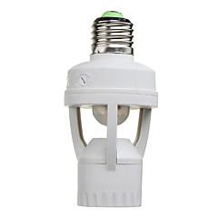Infrared IR Sensor Switch PIR Sensor Motion Auto-lighting lamp holder for E27 lamps and LED lights(AC100-240V)
