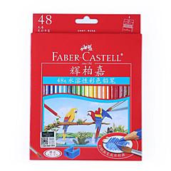 Ζωγραφιά Στυλό Χρωματιστά μολύβια Στυλό,Ξύλο Βαρέλι Κόκκινο Μπλε Κίτρινο Βυσσινί Πορτοκαλί Πράσινο μελάνι Χρώματα For Σχολικές προμήθειες