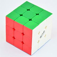 Leksaker Magiska kuber Rubik Cube Qiyi® 3*3*3 magic Toy Slät Hastighet Cube Magic Cube pussel ABS