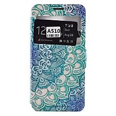 Voor Samsung Galaxy hoesje Kaarthouder / Schokbestendig / Stofbestendig / met standaard hoesje Volledige behuizing hoesje Mandala Zacht