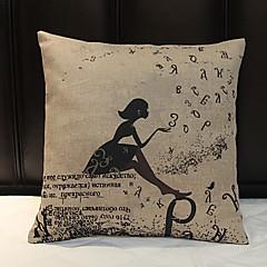 szt Bielizna Syntetyczny Pokrywa Pillow,Wzory graficzne Na co dzień
