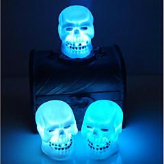 értékesítő halloween dekoráció kellékek koponya éjszakai fény véletlenszerű színt