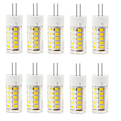 10PCS G4 33LED SMD2835 400-500LM Warm White/White Decorative / Waterproof AC220-240V LED Bi-pin Lights