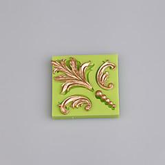 4 szczelina silikonowa forma barokowa fondant i gumy pasta forma ciasto dekoracja kolor losowo