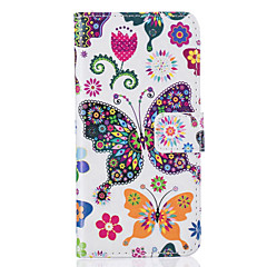 Card Holder Wallet Pattern Colorful Butterfly PU Leather Case For iPhone 7 7 Plus 6s 6 Plus SE 5s 5