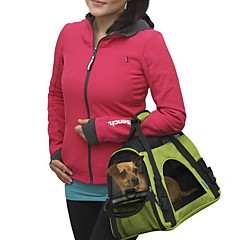 Gato / Perro Transportines y Mochilas de Viaje / Mini Mensajero Mascotas Portadores Portátil / TranspirableRojo / Negro / Verde / Azul /