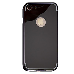 For Spejl Etui Bagcover Etui Helfarve Hårdt Metal for Apple iPhone 7 Plus iPhone 7 iPhone 6s Plus/6 Plus iPhone 6s/6 iPhone SE/5s/5