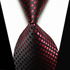 Alfinete de Gravata Moda bijuterias Preto Vermelho Tecido Homens Prendedor de Gravada-