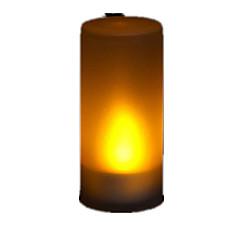 Decoraçao de LED Sensíveis ao Sopro
